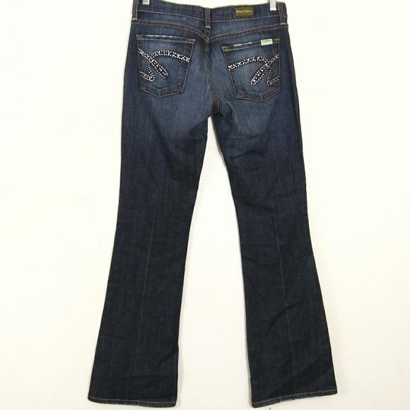 David Kahn Denim - David Kahn nikki women's washed jeans